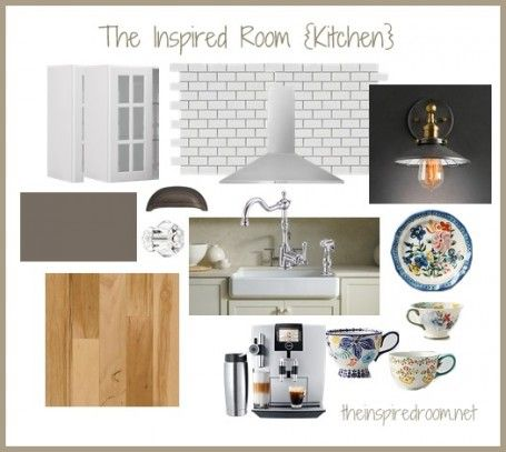Kitchen inspiration, Inspiration boards and New kitchen on Pinterest