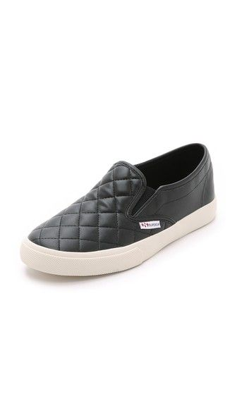 Superga 2311 Quilted Slip On Snakers