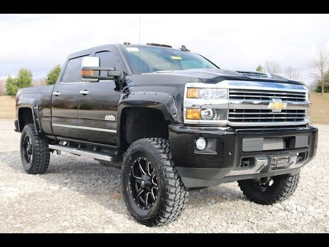 2017 Chevy Silverado High Country 3500hd Crew Cab 4x4 6 Pro Comp Lift Duramax For Sale Youtube Silverado High Country Duramax Lifted Duramax