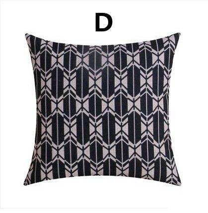 Pin On Similar Black Geometric Decorative Pillows For Living Room