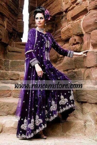Evening wear dresses by Indian designers online shop New York ...