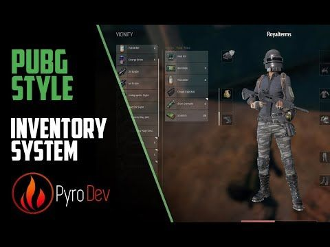Unreal Engine 4 Pubg Style Inventory 2 Youtube Unreal Engine Video Game Development Engineering