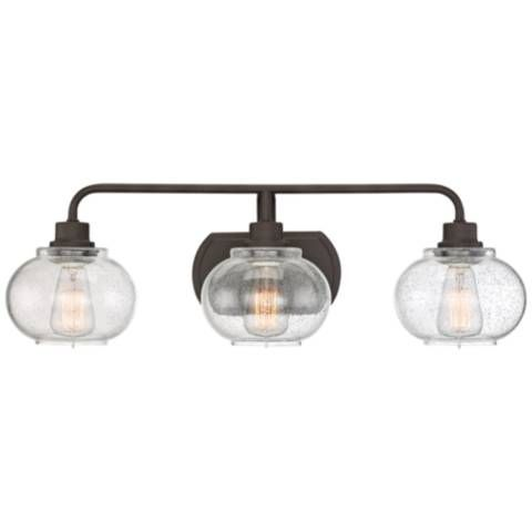 Quoizel Trilogy 26 1 2 Wide Old Bronze Bath Light 18d24 Lamps Plus With Images Vanity Lighting Bath Light Quoizel