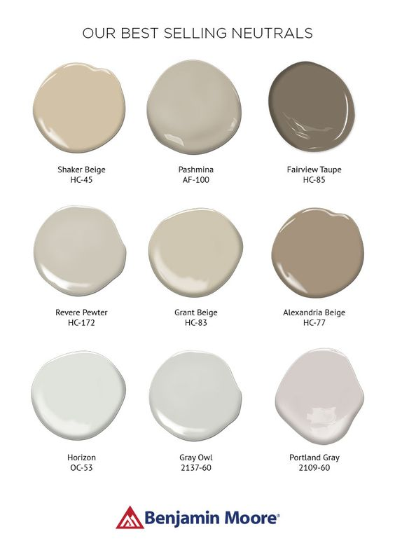 Color overview pewter paint colors and owl for Soft neutral paint colors