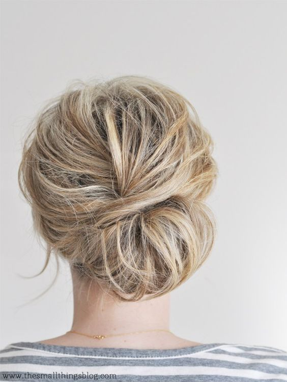 From Top Knots to Sock Buns: Bun Hairstyles For Any Occasion | StyleCaster:
