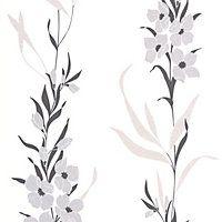 SuperFresco Easy Jardin Wallpaper - Silver