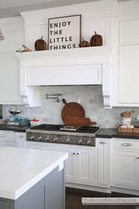The Sunny Side Up Blog - White Kitchen