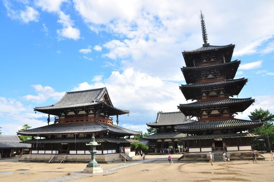 Oldest wooden building existing today in the world is at Horyuji. Built by…