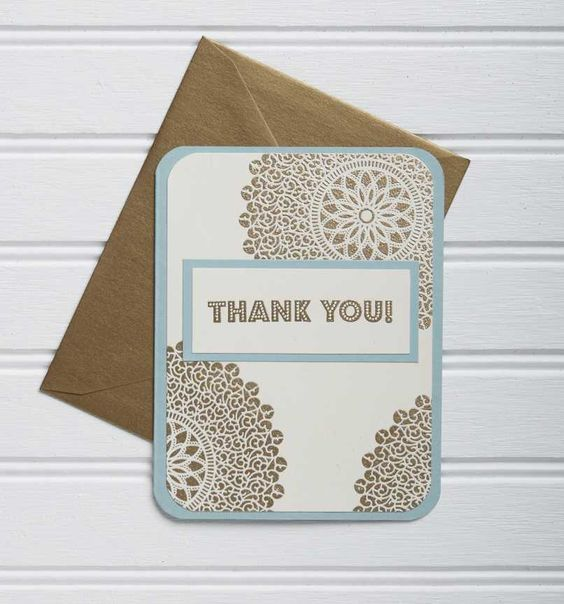 I love the look of Queen's Gold Embossing Powder, especially with this Lace Starburst Rubber Stamp.