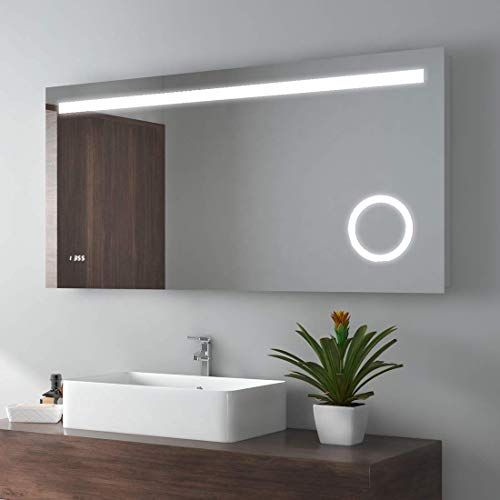 Amazing Offer On Meykoe 48 X 24 Inches Led Lighted Bathroom Mirror