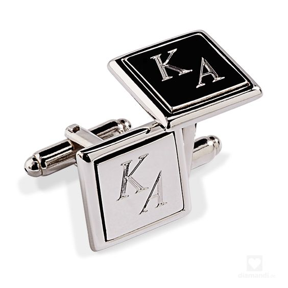 Cufflinks custom engraved - Manschettenknöpfe mit Gravur #cufflinks #engraving #männergeschenk #hochzeit #personalised