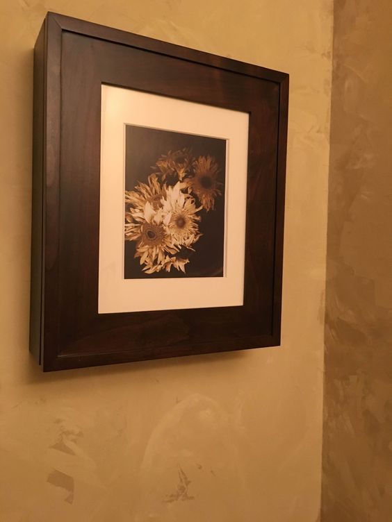 our wall mount picture frame medicine cabinets are perfect
