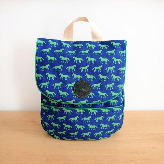 Mochilas para niños hechas a mano personalizadas/ Custom Backpack for children handmade  www.loribarcelona.com