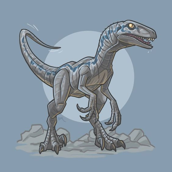 Jurassic Park Velociraptor Blue Blue Jurassic World Jurassic