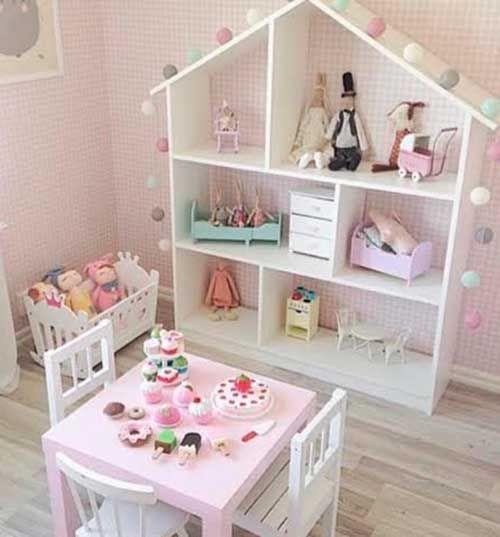 10 ideias criativas decoracao quarto menininas casinha de  ~ Tapete Quarto Geek
