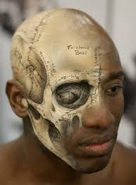 face paint skull - Google Search