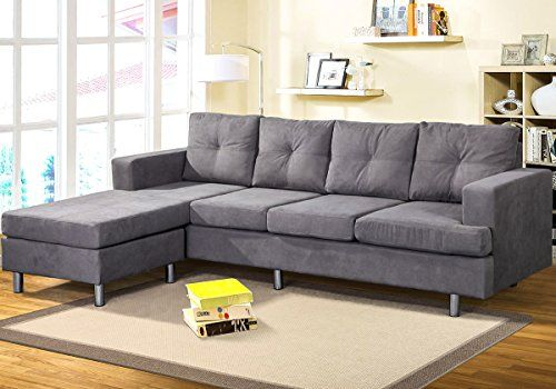 Living Room Sectional Sofa Harper Bright Designs Modern Style