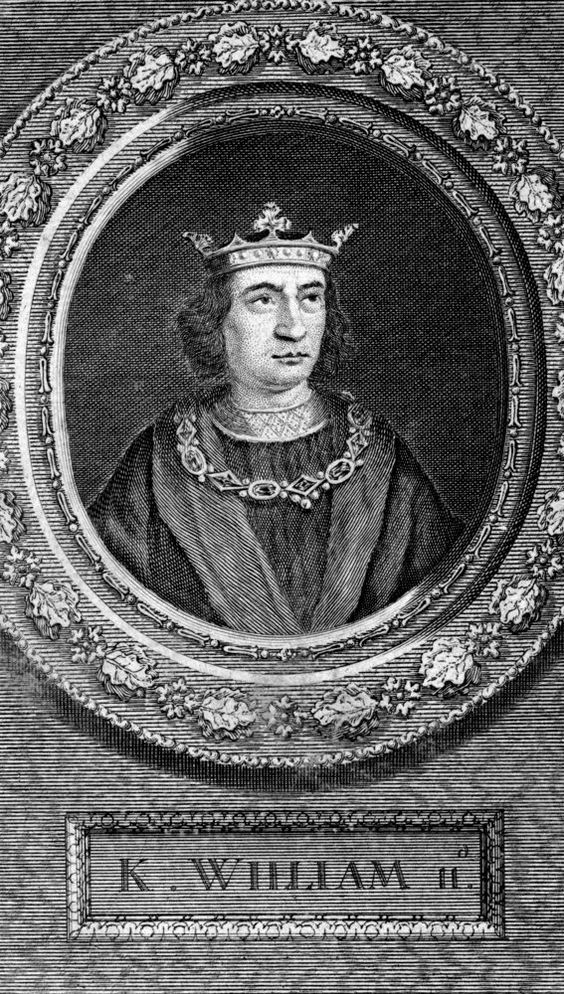 King William II by George Vertue