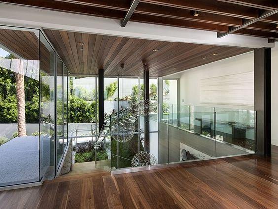 Der Ausdruck einer modernen Villa von Hagy Belzberg Homesthetics Holz Dekoration