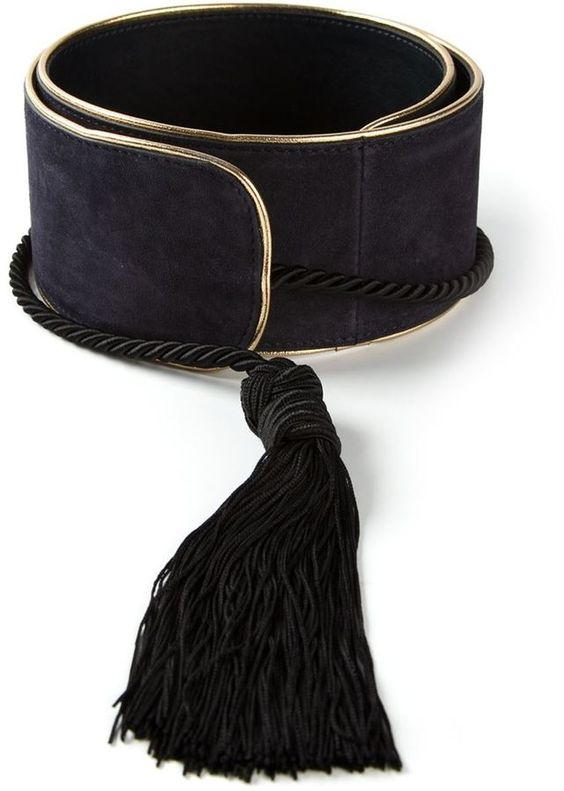 Etro tassel detail belt on shopstyle.com.au
