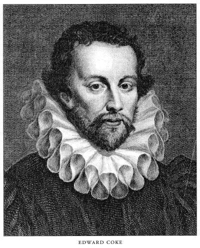 Edward Coke (1 de febrero de 1552 — 3 de septiembre de 1634), jurista inglés.