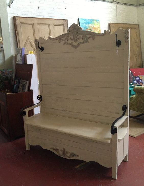 Custom Antique Footboard Bench Y00999 Entry Ways Awesome And I Am