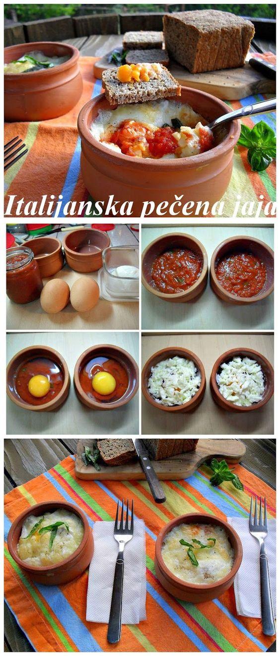 Gaga u kujni: Italijanska pečena jaja