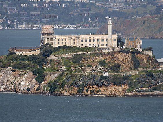 """Ilha de Alcatraz"". # San Francisco, Califórnia. USA."