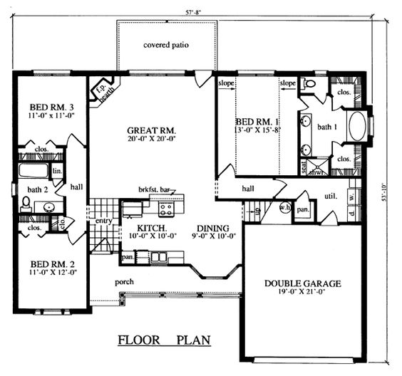 Layout House Layouts And House On Pinterest