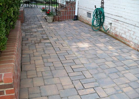 108 - 2 After Paver Patio and Drainage in Arlington