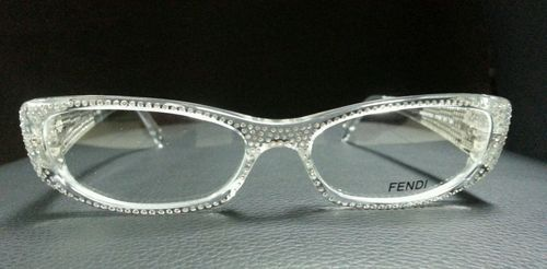Eyeglasses, Fendi and Swarovski crystals on Pinterest