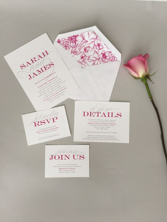 The wedding invitation liner lets you customize your wedding – Customize Your Wedding Invitations
