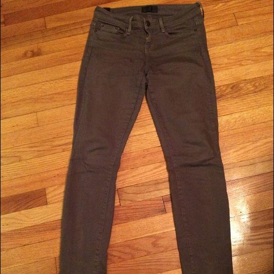 Vince pants Vince Dark green skinnies Vince Pants
