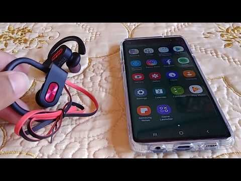 How To Pair Mpow Flame Earphones To Samsung Galaxy S10 Or S10 Youtube Mpow Samsung Galaxy Galaxy