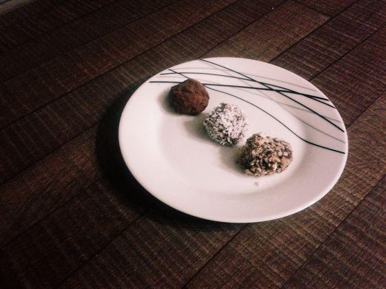 Przepis na jaglane trufle czekoladowe #kuchnia #trufle #słodycze #przepisy