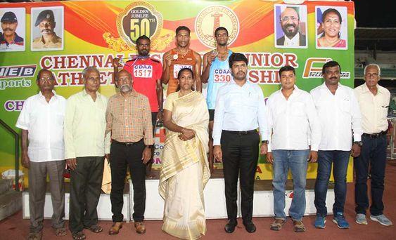 Chennai District Junior Athletic Championship 2019