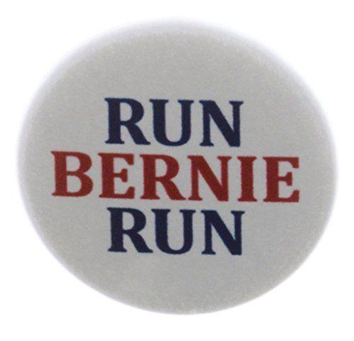 "Run Bernie Run 1.25"" Pinback Button Pin Sanders Vote President Election 2016 A&T Designs http://www.amazon.com/dp/B00ZJTY13O/ref=cm_sw_r_pi_dp_1oM.vb1GSH2YT"