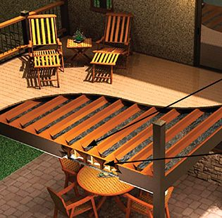 Second Story Decking And Spaces On Pinterest