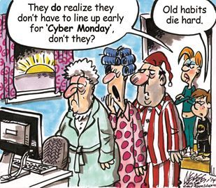 Get your giggles with Orangeville community newspaper cartoons