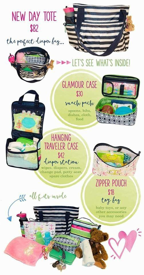Spring/Summer 2016 New Day Tote **Diaper Bag**