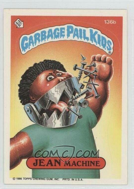 Pin By Cesar Millan On Garbage Pail Kids Infanoj De La Rubujo Garbage Pail Kids Cards Garbage Pail Kids Kids Stickers