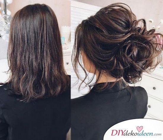 Dünnes haar langes für brautfrisur Frisuren für