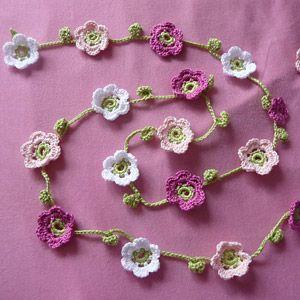 Beautiful Crocheted Garland Patterns - Crochet Granny