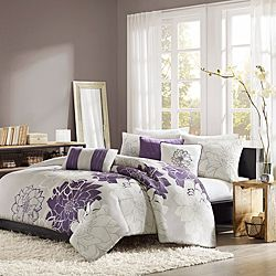 Madison Park Bridgette 6-piece Duvet Cover Set, $89.99