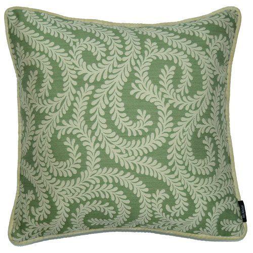 Ophelia Co Kissenhülle Holoman Wayfair De Kissenhülle Holoman Ophelia Co Farbe Salbeigrün Grö In 2020 Floral Throw Pillows Square Pillow Cover Throw Pillows