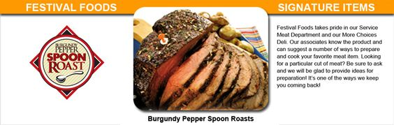 Spoon Roast Recipes Festival Foods