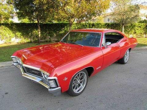 1967 Chevrolet Impala For Sale In Hialeah Gardens Fl Chevrolet