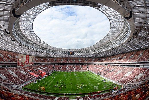 2018 Fifa World Cup Final Received A High Volume Of Edits On July 10 2018 At 12 53pm Football Stadiums World Cup 2018 Fifa World Cup