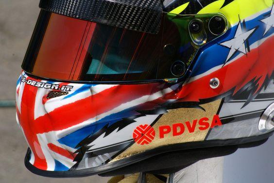 Un súper casco, súper especial que sólo usará el piloto venezolano Pastor Maldonado para el Gran Premio de Gran Bretaña de Fórmula Uno que se realiza en Silverstone, Reino Unido, este fin de semana. Según el fabricante Kaos Design, se trata de un casco de...