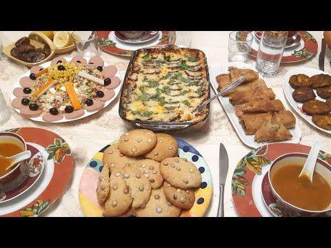 أجواء الإفطار كواليس في مطبخ روتيني في تحضير طاولة رمضان مرحبا بيكم عميراتي Recettes Ramadan Youtube Food Breakfast Pancakes